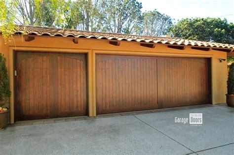 stain garage door stain grade custom wood garage doors garage doors unlimited