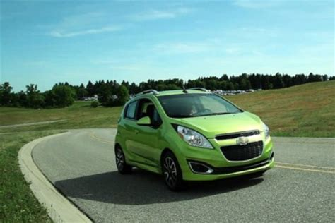 chevrolet spark rated   mpg  news