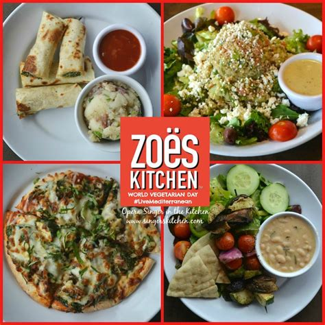the modern vegetarian kitchen zoes kitchen menu vegan wow