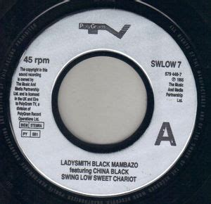 ladysmith black mambazo swing low sweet chariot ladysmith black mambazo swing low sweet chariot polygram 7