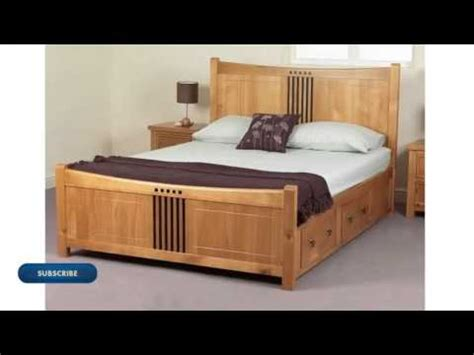 1 double bed design modern double bed youtube