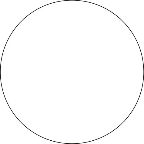 printable 9 inch circle template http wwwsy listing 130578653 1 inch circle my