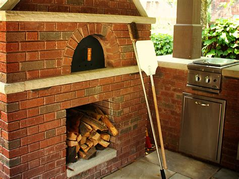 Outdoor Kitchen Designs With Pizza Oven by Custom Outdoor Kitchen Designs Exscape Designs