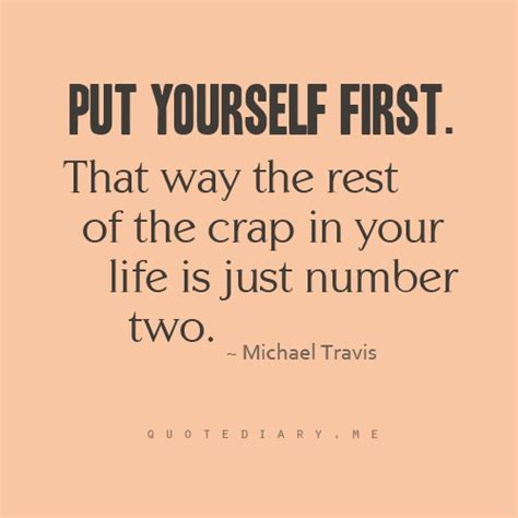 Start Putting Yourself First Quotes