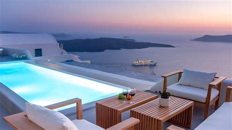 best luxury hotels santorini the best boutique hotels in santorini greece david s