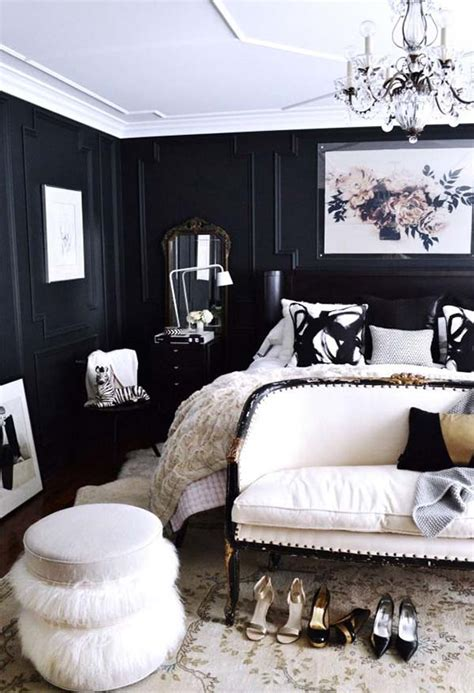 black and white master bedroom design ideas for a perfect master bedroom