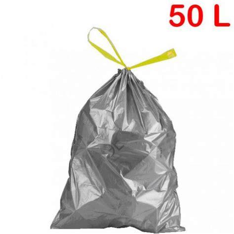 Sacs Poubelles 50l by Sac Poubelle 224 Liens Coulissants 50l 28 181 Roll 233 Co Fr
