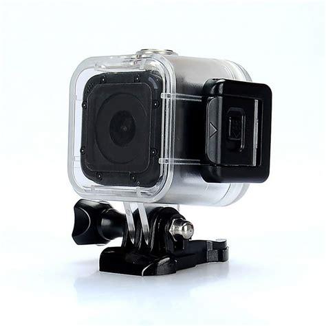 Kamera Gopro 4 Underwater jual gratis biaya kirim gopro 4 new session waterproof free micro sd 8gb baru