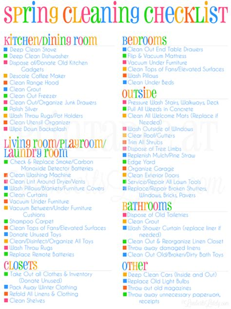 spring cleaning checklist printable my spring cleaning checklist printable lamberts lately