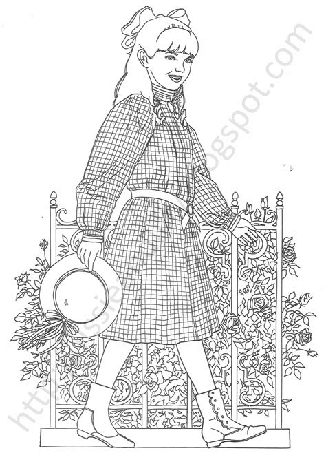American Girl Doll Coloring Pages Bestofcoloring Com American Coloring Pages Kit Free