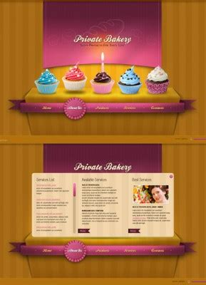 bootstrap themes bakery baker website templates from www bootstrap template com