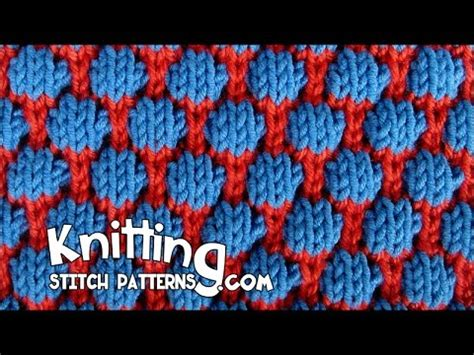 how to check your in knitting blister check or coin stitch