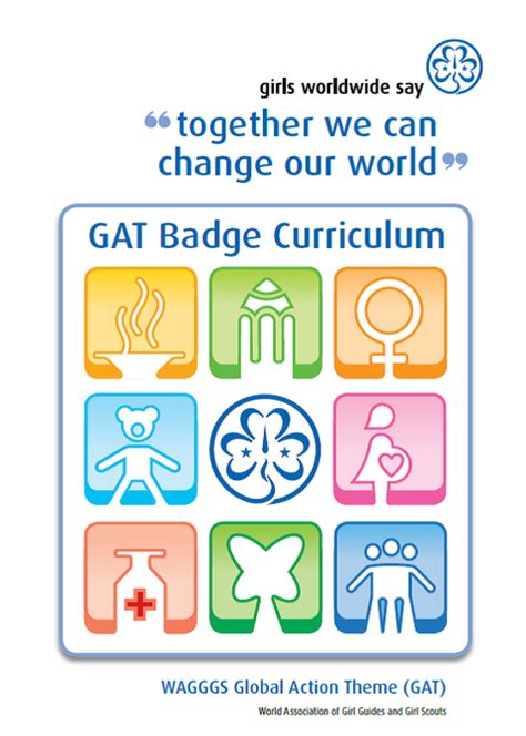 girl guide themes wagggs global action challenges girl guide adventures