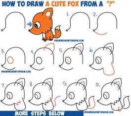 How To Draw A Step By Step Easy How To Draw A Fox From A Question