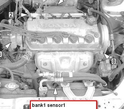 97 honda accord o2 sensor location 97 get free image