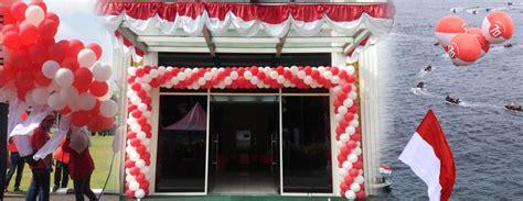 Dekorasi Balon Murah 17 balon dekorasi 17 agustus hut kemerdekaan indonesia balon pabrik balon murah balon