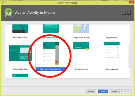 tutorial android navigation drawer android create navigation drawer using fragments exle