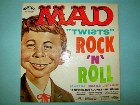 vintage rock n roll collector records collections part 1 vintage 1962 mad magazine 33 1 3 record album quot mad twists