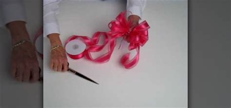 how to tie a ribbon bow 171 holidays