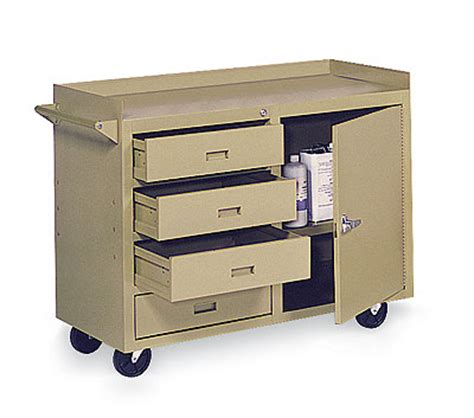 mobile lab bench mobile laboratory bench 3 drawer 1 door 45 x 22 230 lbs cap from cole parmer