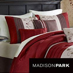 madison park maddox 7 piece comforter set madison park belle 7 piece poly polyoni classic woven