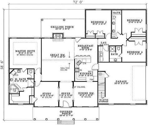 Split Bedroom Floor Plans Split Floor Plans 4 Bedrooms Quotes