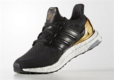 Adidas Ultra Boost Olympic Medal Black Gold adidas ultra boost olympic medals pack sneaker bar detroit