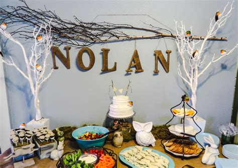 Woodland Themed Baby Shower Decorations by Woodland Themed Baby Shower Decoration Ideas Free