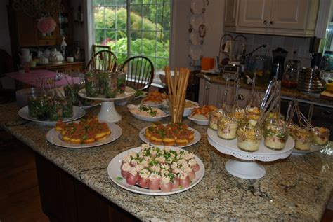 bridal shower food easy gourmet rooster easy ideas