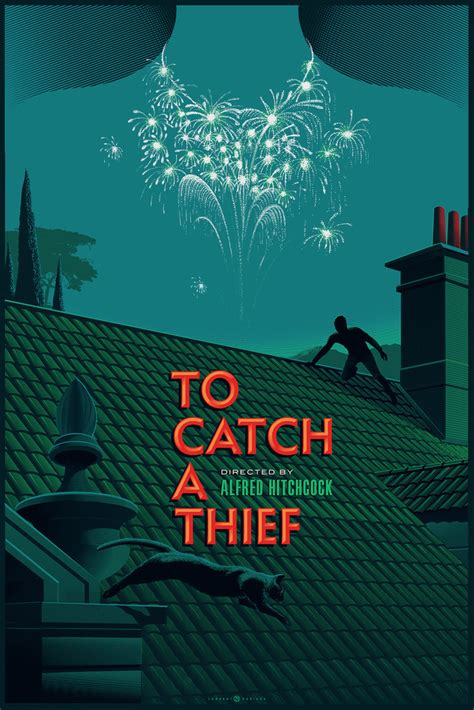 To Catch A Thief | inside the rock poster frame blog laurent durieux to