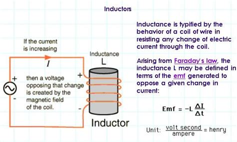 what is the inductance of the coil electronics electrical inductance sensors
