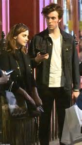 tom hughes and jenna coleman victoria jenna coleman and tom hughes are pictured together on a