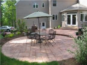 new website concretepatio org features patio shape and