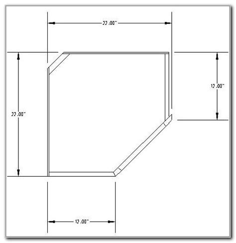 Corner Kitchen Cabinet Sizes by Standard Corner Cabinet Dimensions Cabinet Home