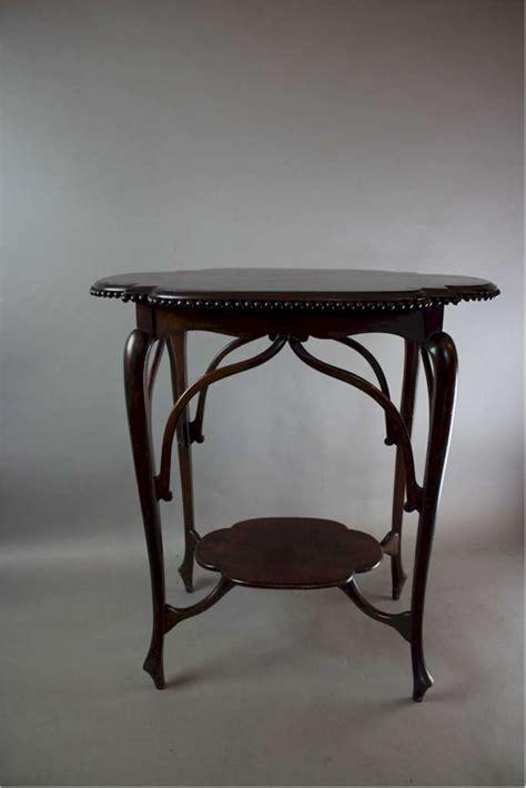 art nouveau table ls art nouveau exquisite mahogany occasional table sold
