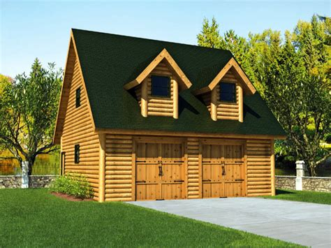 Cabin Plans With Garage by Log Cabin Floor Plans With Garage Log Cabin Homes Garage