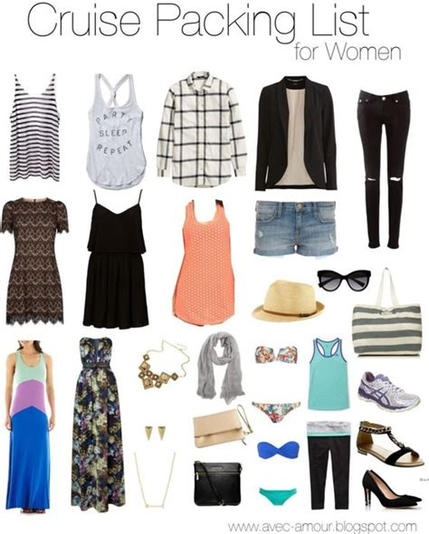 ladies caribbean cruise outfits what to pack for a cruise cruise packing guide for