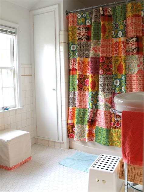 Quilted Shower Curtains by Quilted Shower Curtain Craft Ideas