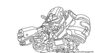halo coloring pages halo reach spartan coloring pages printable