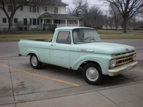 Ford Unibody Truck by 1961 Ford F 100 Bed Unibody Truck Classic Ford F