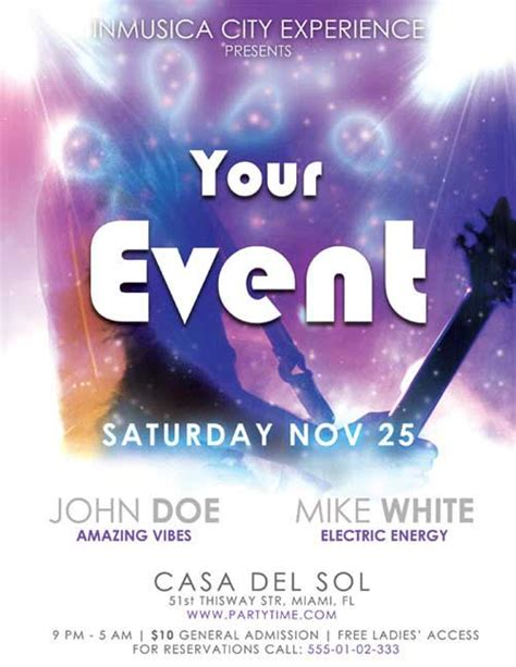 design event flyer free flyer design 15 templates in psd eps to use for free