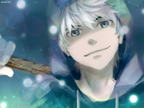 anime frost rise of the guardians jack frost anime