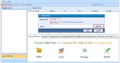 Dbx Tool tips to export outlook express dbx file to pst manually