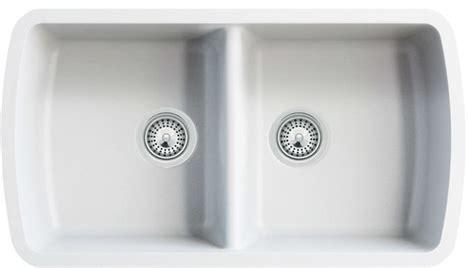 white quartz composite bowl undermount kitchen sink