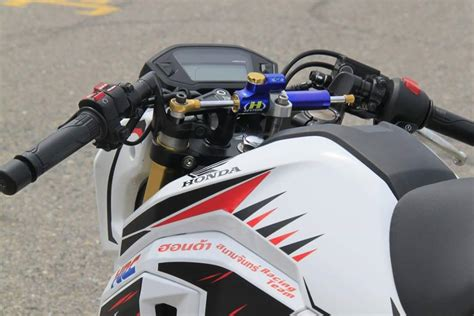 motocross racing parts new honda grom msx125sf race bike built by hrc osaka