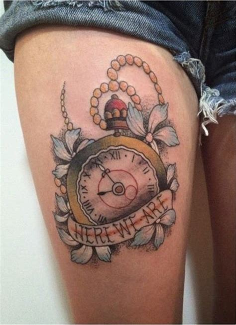tattoo flower clock imagenes de flowers clock tattoo