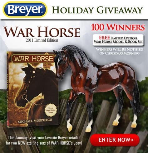 Horse Giveaway - identify your breyer 2011 war horse giveaway