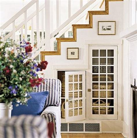 under the stairs storage 20 clever basement storage ideas hative