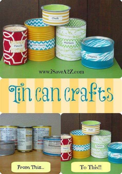 waldenbooks concord nc tin can crafts projects tin can hacks and diy ideas the