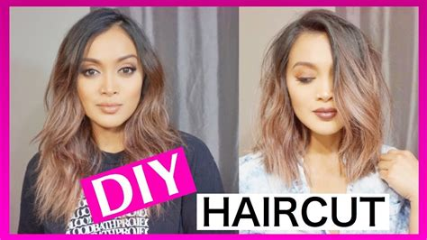 how to cut your own hair 5 hot tips how to cut your own hair short and straight youtube